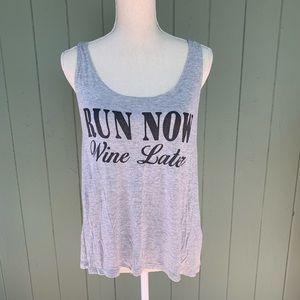Run Now Wine Later!